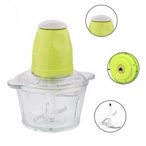 2L Electric Food Processor Chopper for Meat Vegetable and Fruit No. Bc014