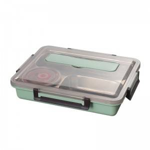 Food Container Manufacturers In China,Factory Price Lunch Box Bento With Division