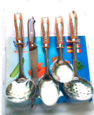 5 PCS Stainless Steel Cooking Set  CKT5-B02