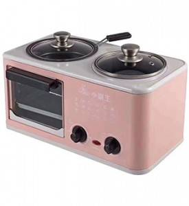 Wholesaler Multifunctional Electric Breakfast Baker Bread Pizza Breakfast Machine