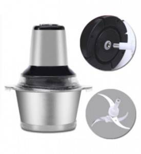 Household Stainless Steel Meat Vegetable Grinder Multifunctional Food Blender