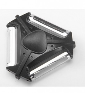 New Style Multifunctional 3 Blades Peeler Fruit and Vegetable Slicer
