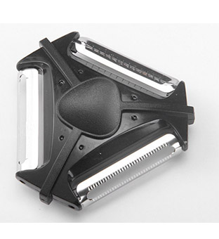 New Style Multifunctional 3 Blades Peeler Fruit and Vegetable Slicer Featured Image