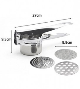 Factory Direct Sales 3 in 1 Stainless Steel Potato Presser Manual Juicer Creative Kitchen Small Tools