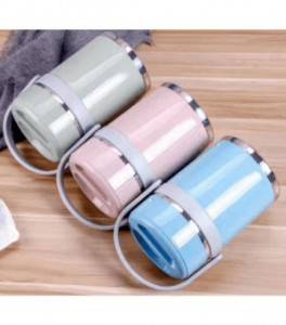 Stainless Steel Handpan Keep Warm Lunch Box-No. P1-Kitchen Utensils