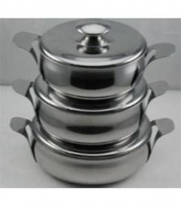Stainless Steel Cookware Set-No.cp12