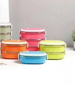 Multi Layers Colorful Lunch Box Food Carrier-No. Lb02-Kitchen Utensils