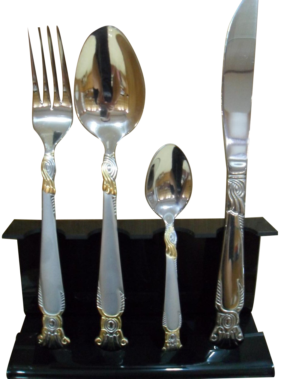 High Quality Hot Sale Stainless Steel Dinner Cutlery Set No. Bg1509 Featured Image