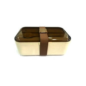 Nature Wheat Straw Fiber Lunch Box-No.WS05-Dinnerware