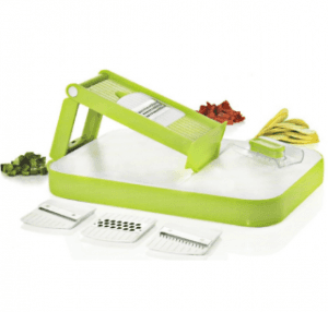 Home Appliance Plastic Vegetable Chopper Grater with Steel Parts with Cutting Board No. Cg002