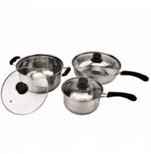 Home Appliance Stainless Steel Cooking Pot and Frying Pan PP010