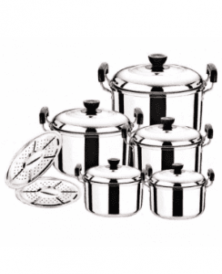 Stainless Steel Kitchenwares Cooking Pot PP014