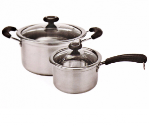 Home Appliance Stainless Steel Capsule Bottom Cooking Milk Pot Cp022