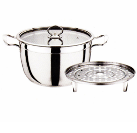 Stainless Steel Cookware Cooking Pot Steaming Pot Cp026