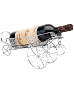 Iron Wine Stand Rack with Plating Wr005