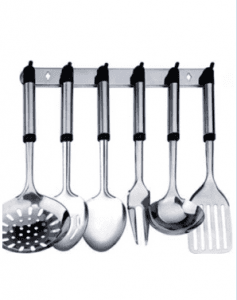 Stainless Steel Kitchen Cooking Tools Sets with Holder Ckt-Sb04