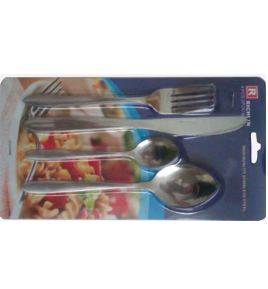 4PCS Stainless Steel Dinner Cutlery Set No. CT4-S01