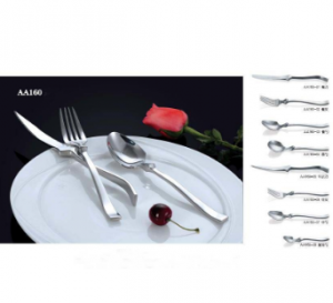 High Quality Hot Sale Stainless Steel Cutlery Dinner Set No. AA160
