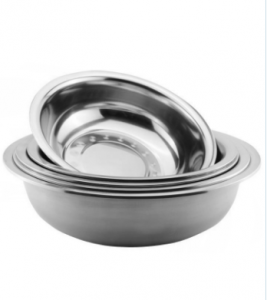 High Quality Polishing 30-90cm Stainless Steel Big Indian Basin