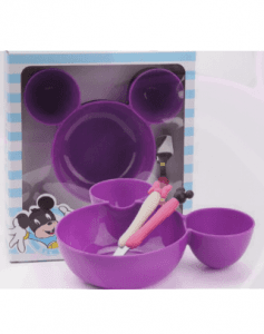Stainless Steel Micky Dinnerware Set