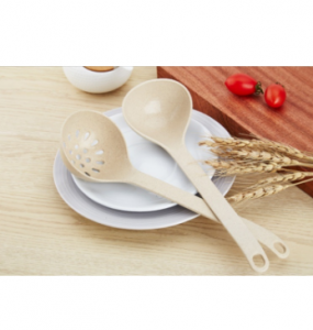 Nature Wheat Straw Soup Ladle-No.Gd019-Cookware
