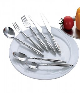 High Quality Stainless Steel Table Ware Cutlery Set No. 100