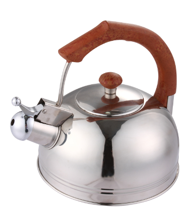 Stainless Steel Whistling Kettle With Bakelite Handle Skw008