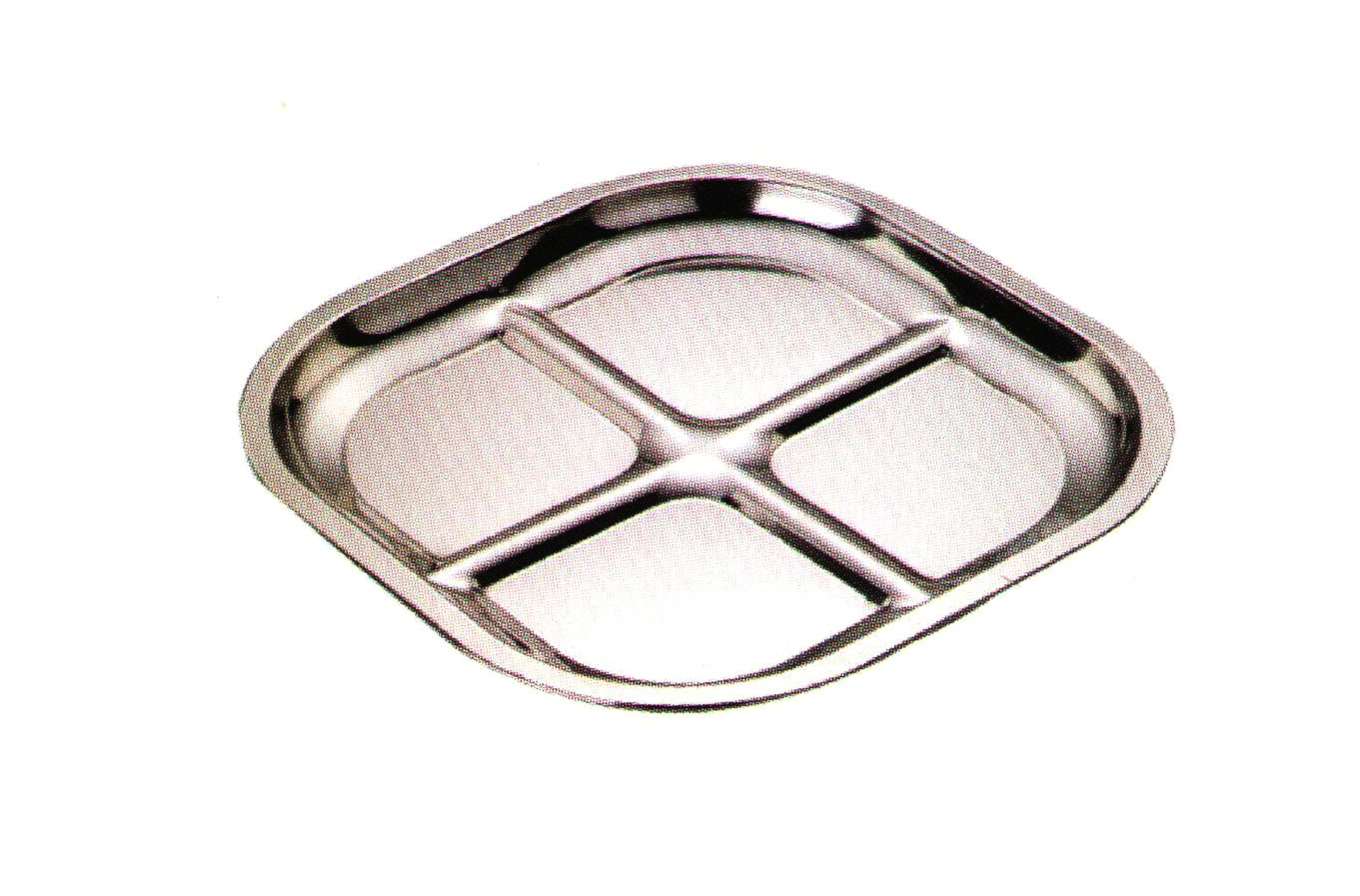 Stainless Steel Kitchenware Square Tray/ Plate Sp043