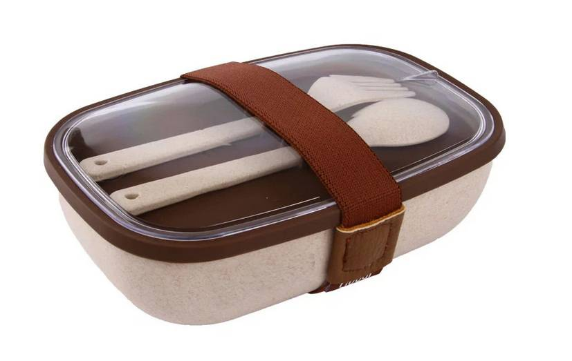 Nature Wheat Straw Lunch Box Set-No. Gd010-Dinnerware