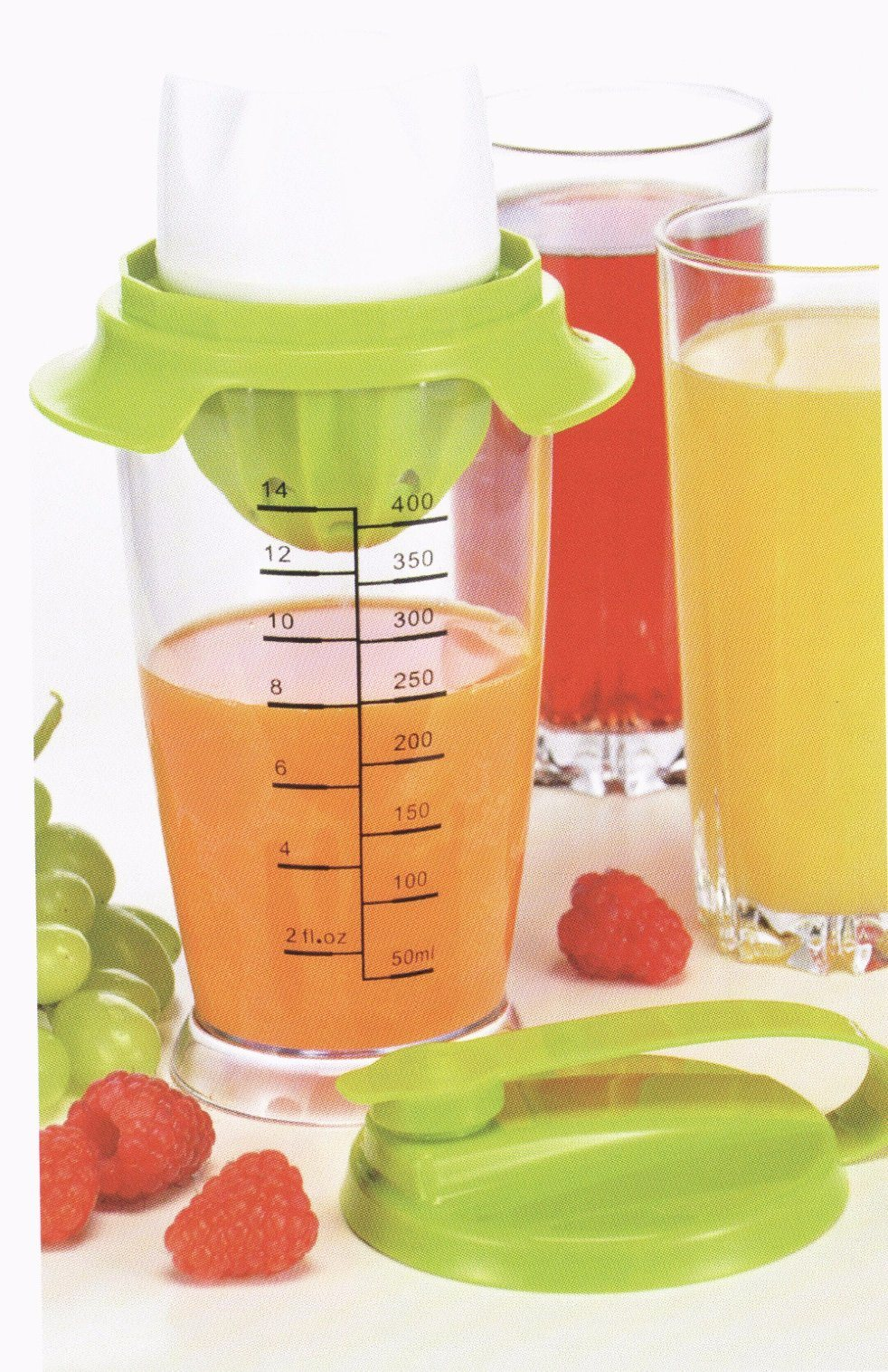 Home Appliance Plastic Mill Juicer Juice Maker Juicy Mixing Set Jm005