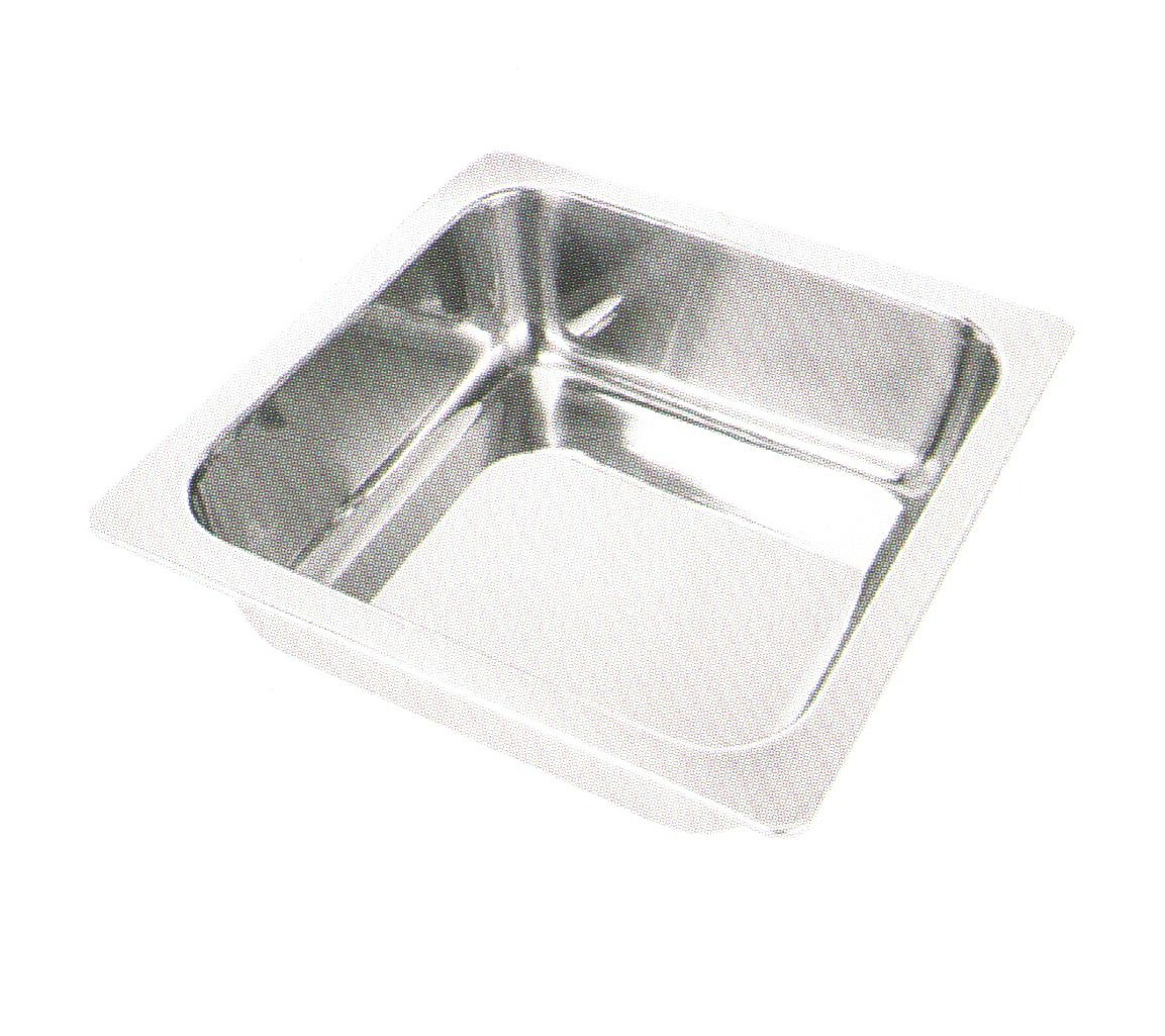Home Appliance Stainless Steel One Flavor Square Hot Pot HP003