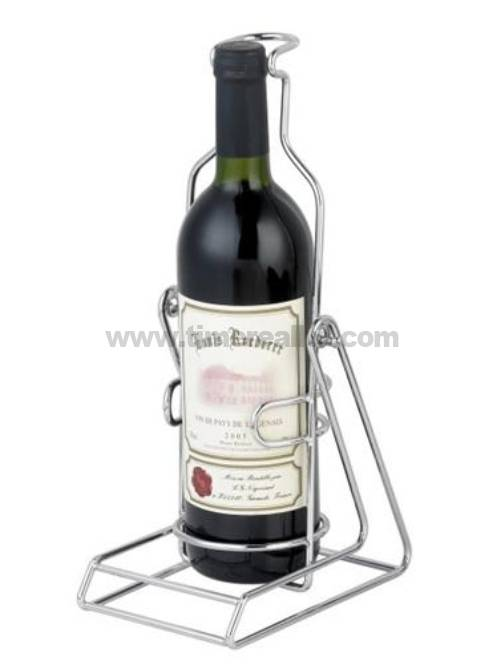 Iron Wire Wine Stand Rack with Plating No. Wr001
