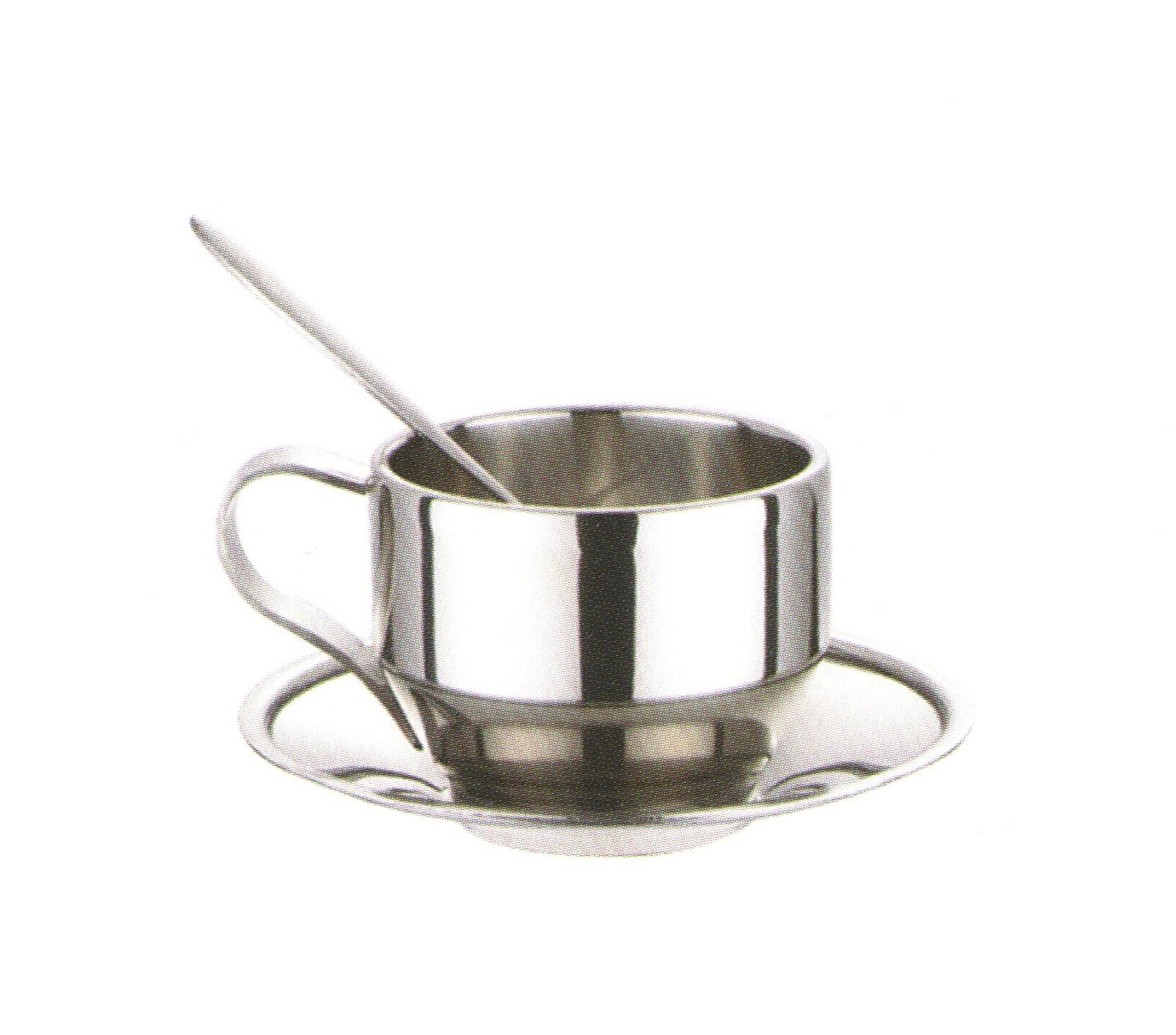 Stainless Steel Coffee Cups-No.Scc021-Dinnerware