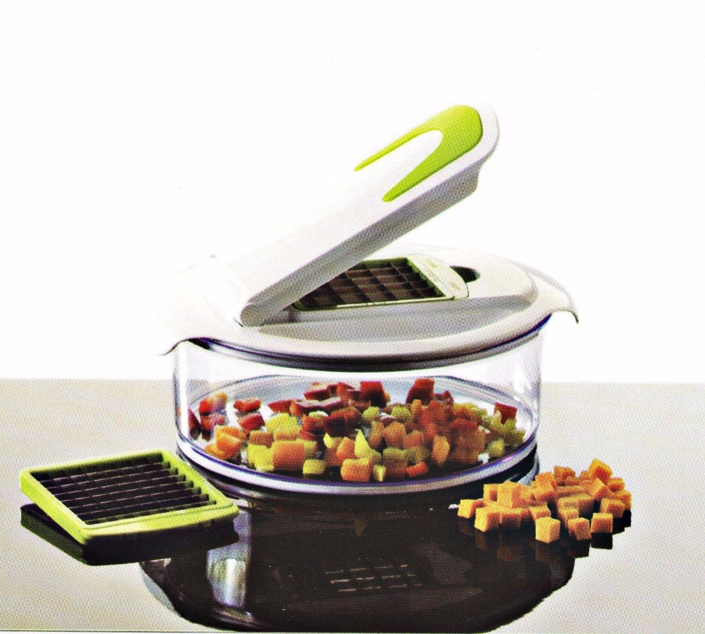 Plastic Vegetable Chopper Dice and Slice Cutting Food Machine Cg069