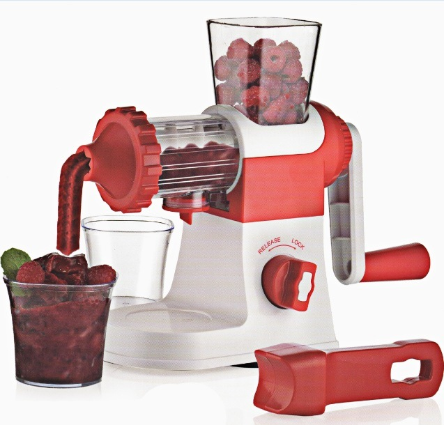 Manual Plastic Mill Juicer Juice Maker Machine Jm001