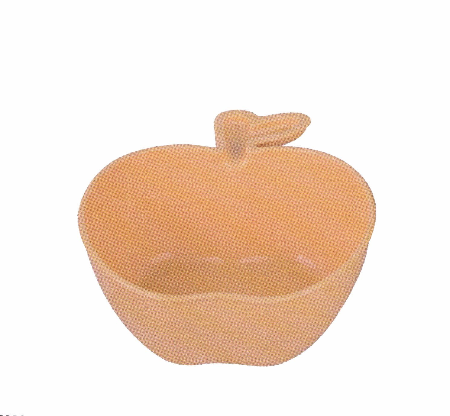 Nature Wheat Straw Apple Shape Bowl-Nwc003-Dinnerware