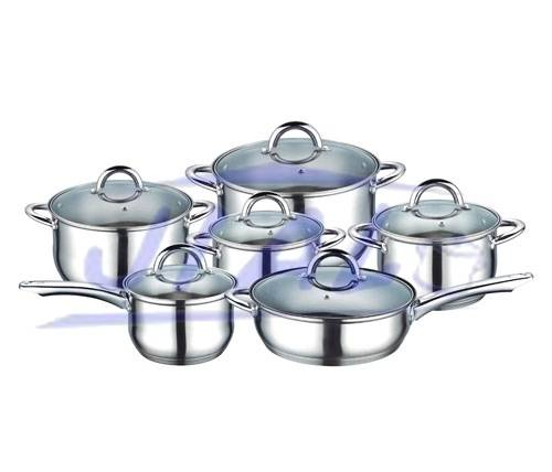 Stainless Steel 12PCS Cookware Set S113