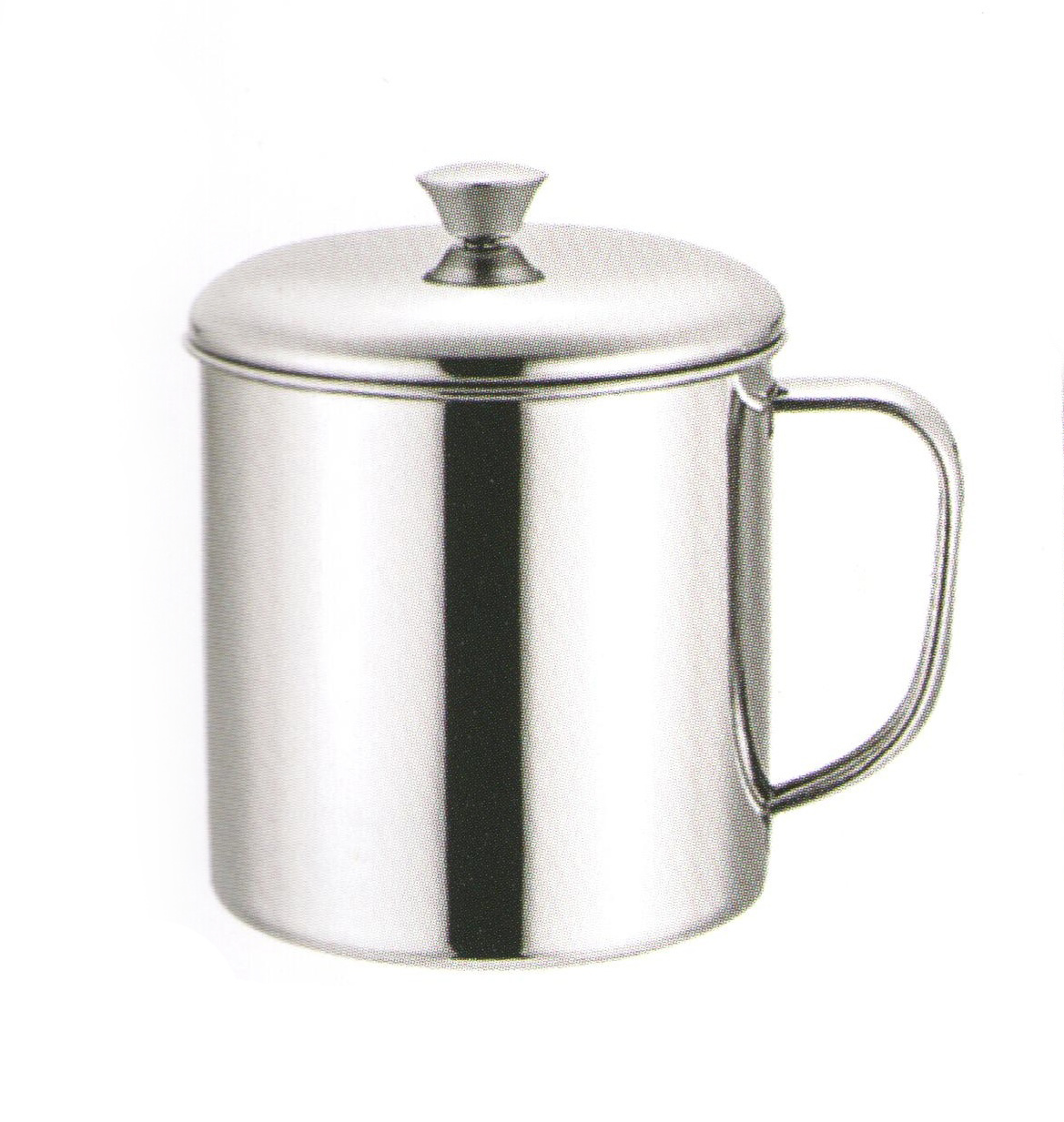 Stainless Steel Cups with Cover Scc018