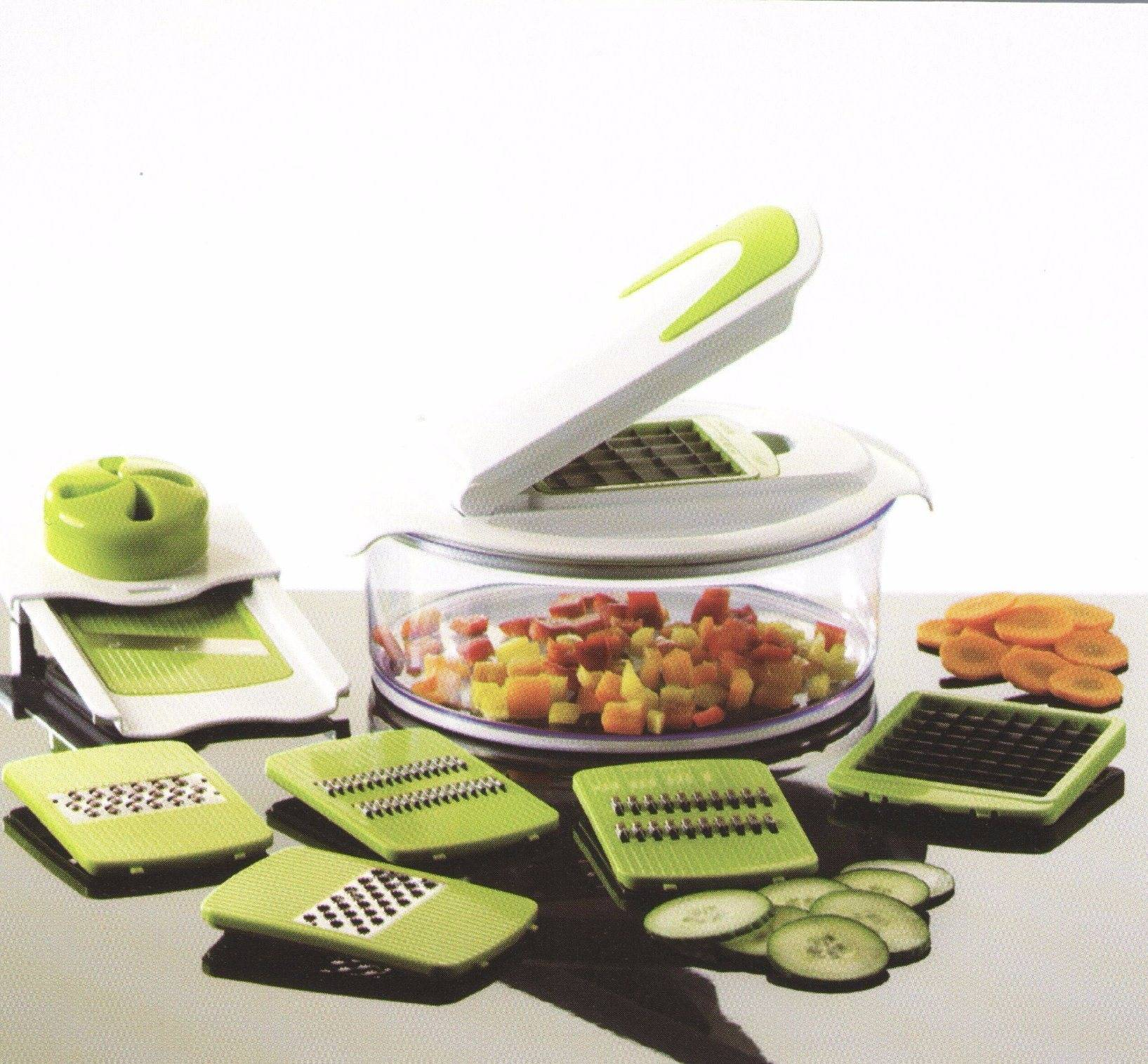 Plastic Vegetable Chopper Dice and Slice Cutting Food Machine Cg068