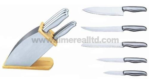 Stainless Steel Kitchen Knife Set Kns-C010