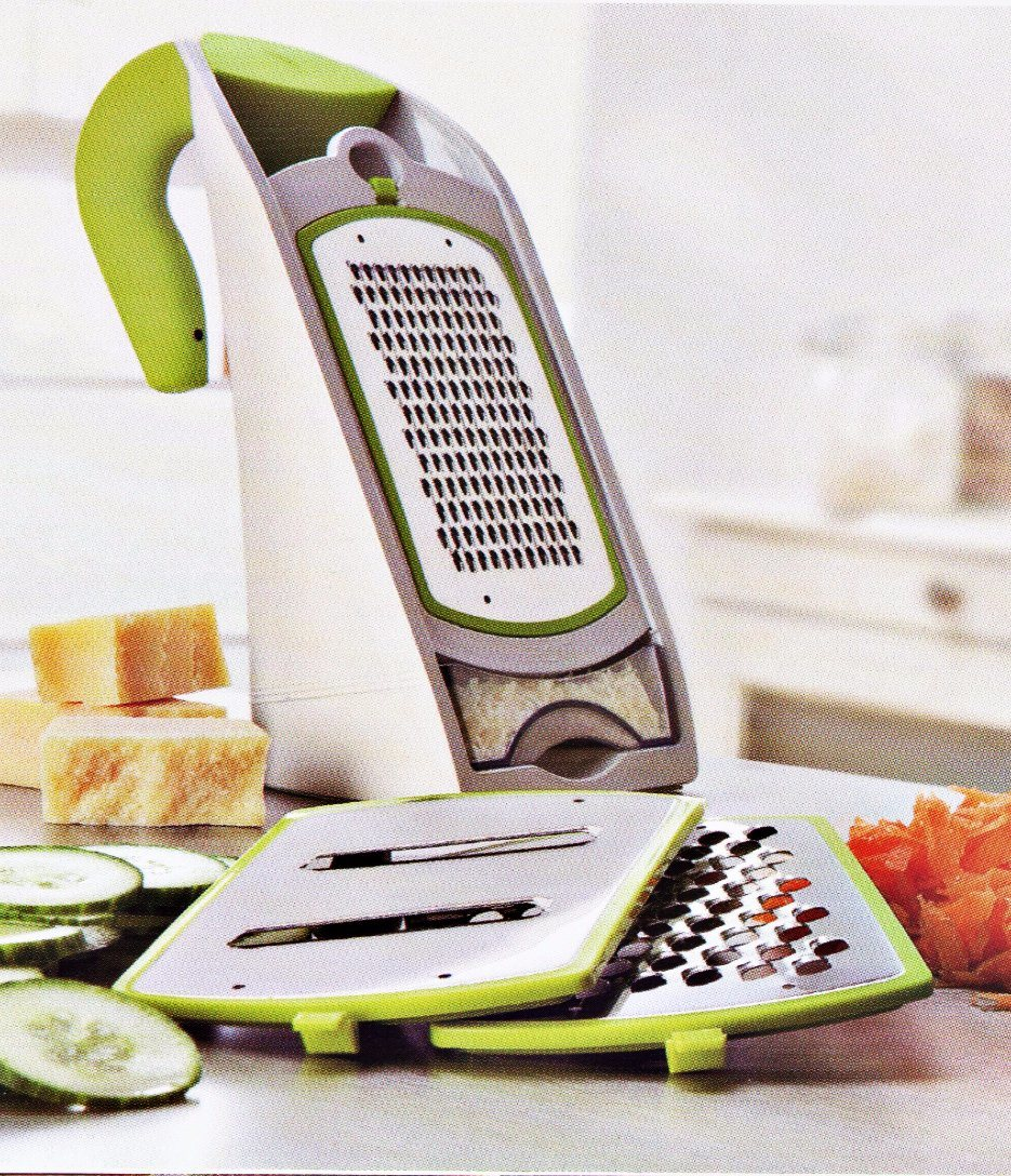 Multi-Function 3 in 1 Plastic Vegetable Food Grater Cutting Machine Fg004