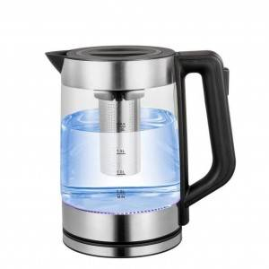 China Manufacturer With Steel Filter Net Glass Electrical Kettle