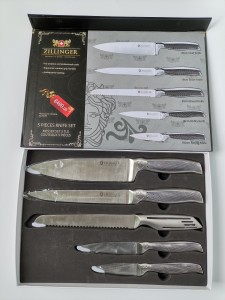 5PCS Stainless Steel Kitchen Knife Set No. ZL-839