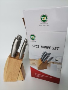 6PCS Stainless Steel Kitchen Knife Set KF-5B10