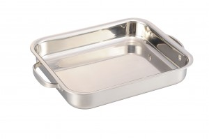 Stainless Steel Tri-ply Rectangular Tray -No.rt001