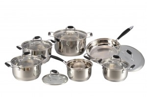Stainless Steel Cookware Set-No.cs57
