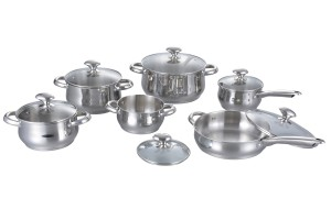 Stainless Steel Cookware Set-No.cs58