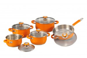 Stainless Steel Cookware Set-No.cs70