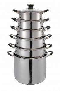 Stainless Steel Cookware Set-No.cs75