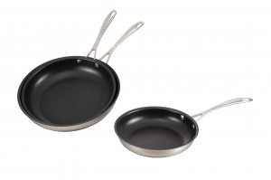 Stainless Steel Cooking Fry Pan Set-No.cp002
